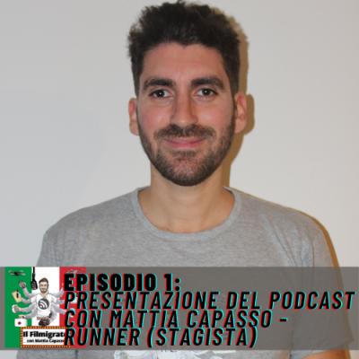 Episodio 1: Presentazione del podcast con Mattia Capasso – Runner (Stagista)